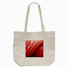 Red Abstract Swirling Pattern Background Wallpaper Tote Bag (cream) by Simbadda