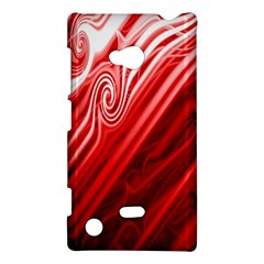 Red Abstract Swirling Pattern Background Wallpaper Nokia Lumia 720 by Simbadda