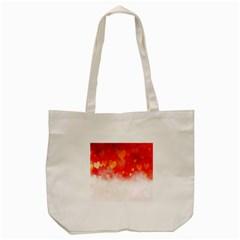 Abstract Love Heart Design Tote Bag (cream) by Simbadda