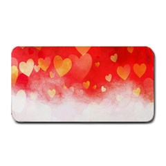 Abstract Love Heart Design Medium Bar Mats by Simbadda