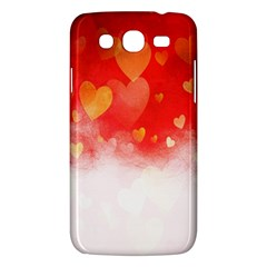 Abstract Love Heart Design Samsung Galaxy Mega 5 8 I9152 Hardshell Case  by Simbadda