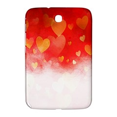 Abstract Love Heart Design Samsung Galaxy Note 8 0 N5100 Hardshell Case  by Simbadda