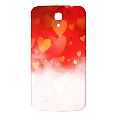 Abstract Love Heart Design Samsung Galaxy Mega I9200 Hardshell Back Case by Simbadda