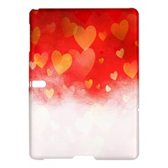 Abstract Love Heart Design Samsung Galaxy Tab S (10 5 ) Hardshell Case  by Simbadda