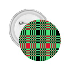 Bright Christmas Abstract Background Christmas Colors Of Red Green And Black Make Up This Abstract 2 25  Buttons by Simbadda