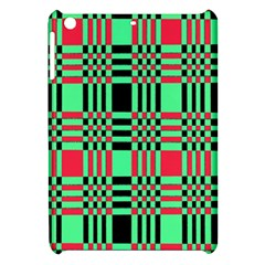 Bright Christmas Abstract Background Christmas Colors Of Red Green And Black Make Up This Abstract Apple Ipad Mini Hardshell Case by Simbadda