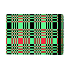 Bright Christmas Abstract Background Christmas Colors Of Red Green And Black Make Up This Abstract Ipad Mini 2 Flip Cases by Simbadda