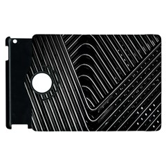 Chrome Abstract Pile Of Chrome Chairs Detail Apple Ipad 2 Flip 360 Case by Simbadda