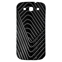Chrome Abstract Pile Of Chrome Chairs Detail Samsung Galaxy S3 S Iii Classic Hardshell Back Case by Simbadda