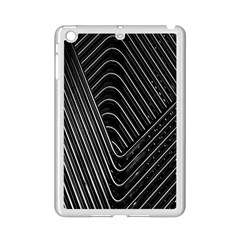 Chrome Abstract Pile Of Chrome Chairs Detail Ipad Mini 2 Enamel Coated Cases by Simbadda