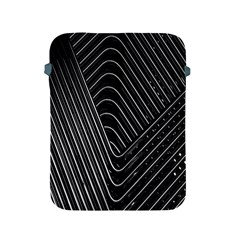 Chrome Abstract Pile Of Chrome Chairs Detail Apple Ipad 2/3/4 Protective Soft Cases by Simbadda