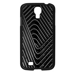 Chrome Abstract Pile Of Chrome Chairs Detail Samsung Galaxy S4 I9500/ I9505 Case (black) by Simbadda