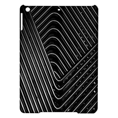 Chrome Abstract Pile Of Chrome Chairs Detail Ipad Air Hardshell Cases by Simbadda