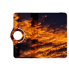 Abstract Orange Black Sunset Clouds Kindle Fire Hdx 8 9  Flip 360 Case by Simbadda
