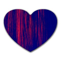 Abstract Color Red Blue Heart Mousepads by Simbadda