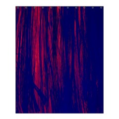 Abstract Color Red Blue Shower Curtain 60  X 72  (medium)  by Simbadda