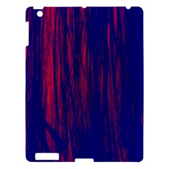 Abstract Color Red Blue Apple Ipad 3/4 Hardshell Case by Simbadda