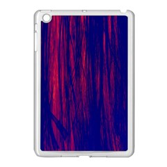 Abstract Color Red Blue Apple Ipad Mini Case (white) by Simbadda
