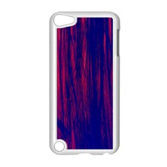 Abstract Color Red Blue Apple Ipod Touch 5 Case (white) by Simbadda