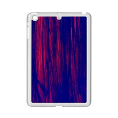 Abstract Color Red Blue Ipad Mini 2 Enamel Coated Cases by Simbadda