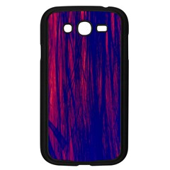 Abstract Color Red Blue Samsung Galaxy Grand Duos I9082 Case (black) by Simbadda