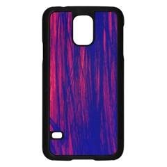 Abstract Color Red Blue Samsung Galaxy S5 Case (Black) by Simbadda