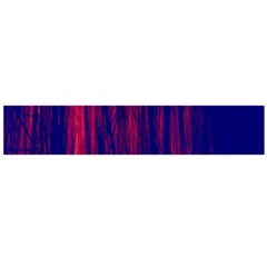 Abstract Color Red Blue Flano Scarf (large) by Simbadda