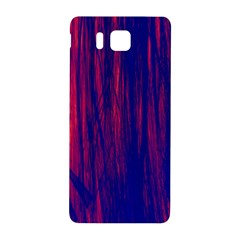 Abstract Color Red Blue Samsung Galaxy Alpha Hardshell Back Case by Simbadda