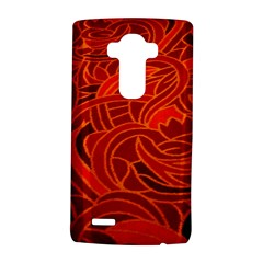 Orange Abstract Background Lg G4 Hardshell Case by Simbadda