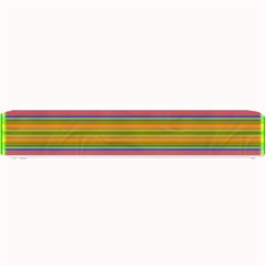 Fiesta Stripe Bright Colorful Neon Stripes Cinco De Mayo Background Small Bar Mats by Simbadda