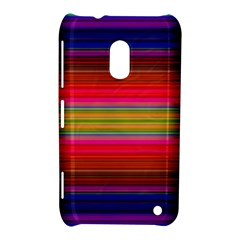 Fiesta Stripe Bright Colorful Neon Stripes Cinco De Mayo Background Nokia Lumia 620 by Simbadda