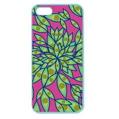 Big Growth Abstract Floral Texture Apple Seamless Iphone 5 Case (color) by Simbadda