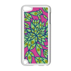 Big Growth Abstract Floral Texture Apple Ipod Touch 5 Case (white) by Simbadda