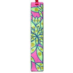 Big Growth Abstract Floral Texture Large Book Marks by Simbadda