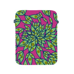Big Growth Abstract Floral Texture Apple Ipad 2/3/4 Protective Soft Cases by Simbadda