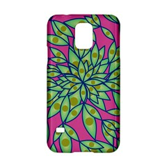 Big Growth Abstract Floral Texture Samsung Galaxy S5 Hardshell Case  by Simbadda