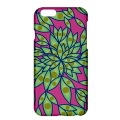 Big Growth Abstract Floral Texture Apple Iphone 6 Plus/6s Plus Hardshell Case by Simbadda