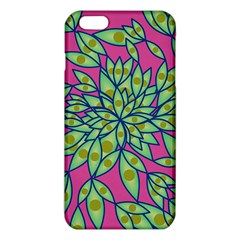Big Growth Abstract Floral Texture Iphone 6 Plus/6s Plus Tpu Case by Simbadda