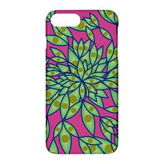 Big Growth Abstract Floral Texture Apple Iphone 7 Plus Hardshell Case by Simbadda