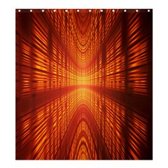 Abstract Wallpaper With Glowing Light Shower Curtain 66  X 72  (large)  by Simbadda