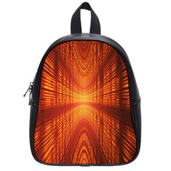 Abstract Wallpaper With Glowing Light School Bags (small)  by Simbadda