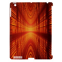 Abstract Wallpaper With Glowing Light Apple Ipad 3/4 Hardshell Case (compatible With Smart Cover) by Simbadda