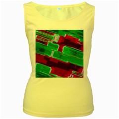 Background Wallpaper Texture Women s Yellow Tank Top