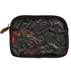 Volcanic Lava Background Effect Digital Camera Cases by Simbadda