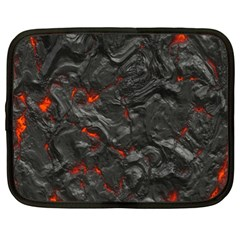 Volcanic Lava Background Effect Netbook Case (xl)  by Simbadda