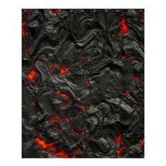 Volcanic Lava Background Effect Shower Curtain 60  X 72  (medium)  by Simbadda