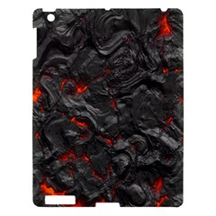 Volcanic Lava Background Effect Apple Ipad 3/4 Hardshell Case by Simbadda