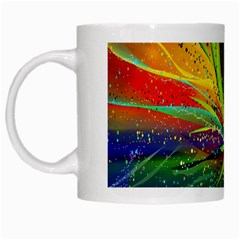 Future Abstract Desktop Wallpaper White Mugs by Simbadda