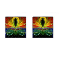 Future Abstract Desktop Wallpaper Cufflinks (square) by Simbadda