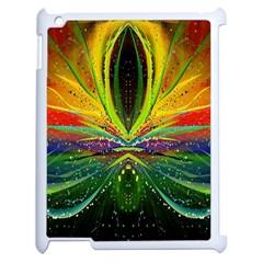 Future Abstract Desktop Wallpaper Apple Ipad 2 Case (white) by Simbadda